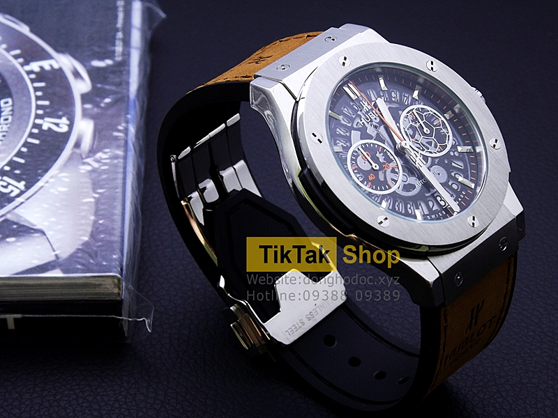ĐỒNG HỒ BIGBANG VENDOME TITANIUM ORANGE SPECIAL EDITION LIMITED LEATHER STRAP SỐ 10
