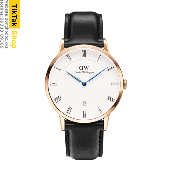 ĐỒNG HỒ DW DANIEL WELLINGTON DAPPER SHEFFIELD - ROSE GOLD 38MM - NAM