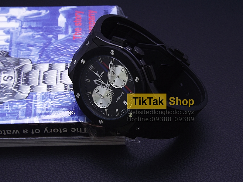 ĐỒNG HỒ HUBLOT BIGBANG VENDOME TITANIUM FULL BLACK EDITION LEATHER STRAP SỐ 3