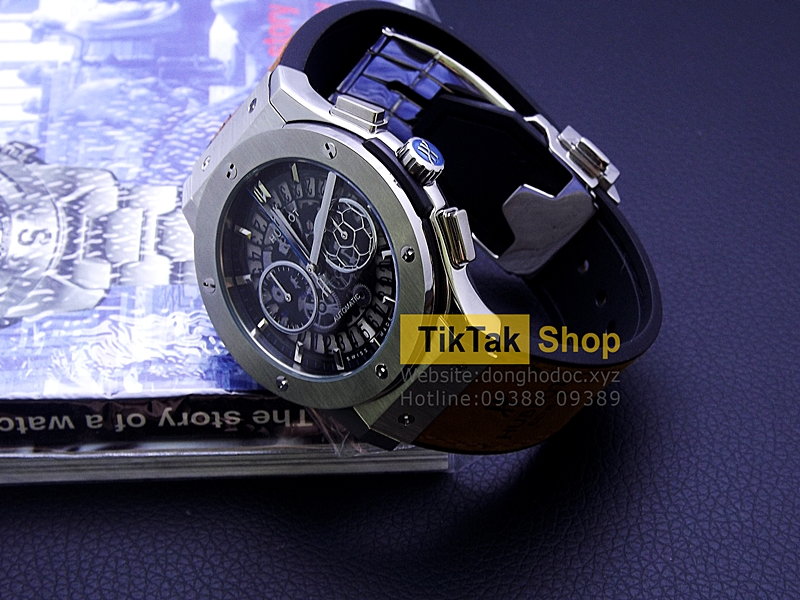 ĐỒNG HỒ BIGBANG VENDOME TITANIUM BLUE SPECIAL EDITION LIMITED LEATHER STRAP SỐ 11