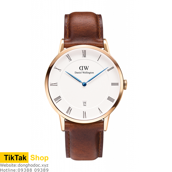 ĐỒNG HỒ DW DANIEL WELLINGTON DAPPER ST MAWES - ROSE GOLD 38MM - NAM