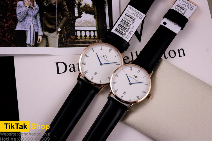 ĐỒNG HỒ DW DANIEL WELLINGTON DAPPER SHEFFIELD - ROSE GOLD 34MM - NỮ