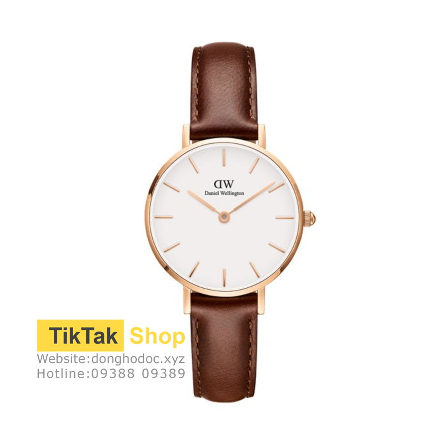 ĐỒNG HỒ DW DANIEL WELLINGTON CLASSIC WHITE PETITE ST MAWES - ROSEGOLD 28MM - NỮ